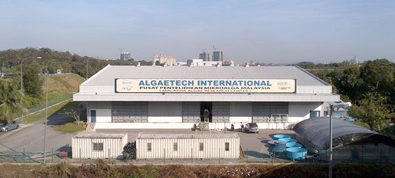 Algaetech's current Production Center at Technology Park Malaysia