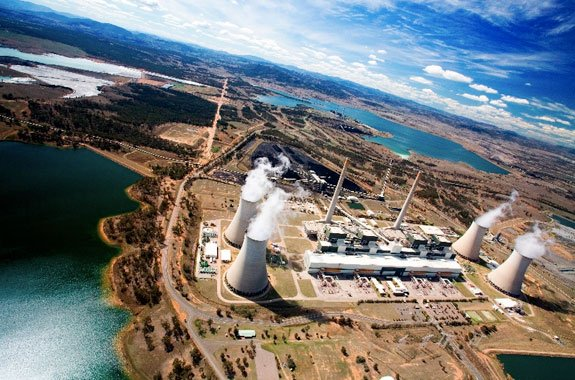 The Bayswater coal-fired power station, located in the Hunter Valley NSW, Australia, is one of the two largest power stations in Australia and one of the largest in the world.