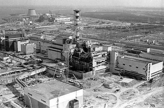 April 26,1986 – A nuclear reactor accident occurs at the Chernobyl Nuclear Power Plant in the Soviet Union (now Ukraine), creating the world's worst nuclear disaster.