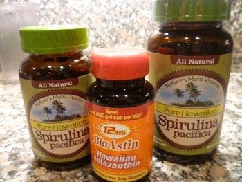 BioAstin® Natural Astaxanthin and Hawaiian Spirulina Pacifica®