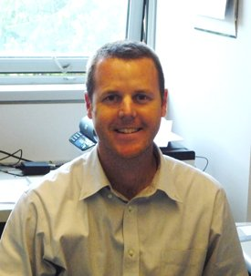 Associate Professor of Chemistry Greg O'Neil