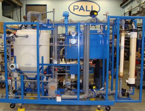 Pall Field Evaluation ASCF during Factory Acceptance Testing