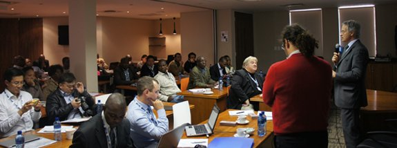Science experts and policy leaders of 14 South African Countries met in Pretoria to talk about algae's role in their future.