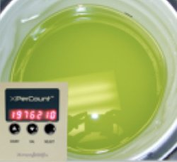 XperCount can count millions of microalgae in the bucket