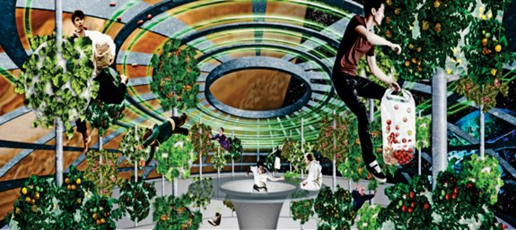 Starship Botanical Garden and Food Production