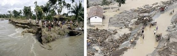 Floods destroy Infrastructure for Food Production