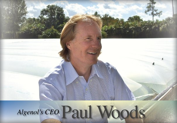 Paul Woods Algenol CEO