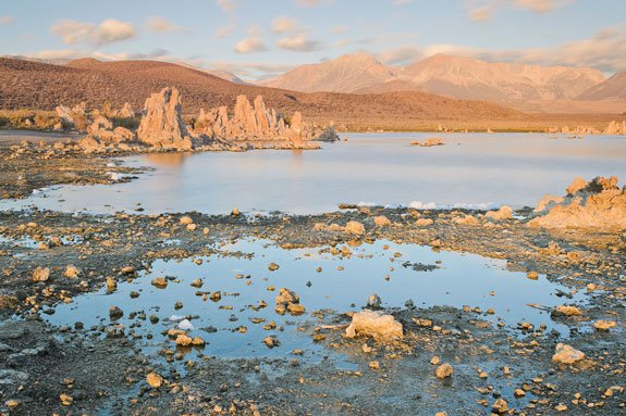 Mono Lake CA and arsenic contamination